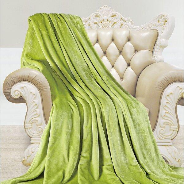 Higginson Shiny Velvet Microplush Blanket By Latitude Run.