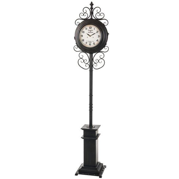 Metal 84 Floor Clock by Darby Home Co