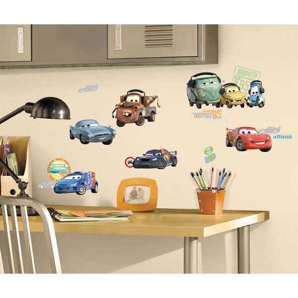 Disney Cars 2 Room Makeover Wall Decal by Wallhogs
