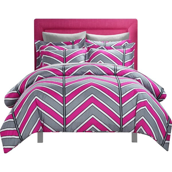Piper 3 Piece Reversible Duvet Cover Set by Chic Home