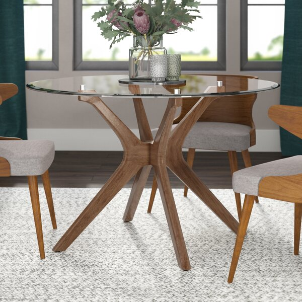 Cassius Trestle Dining Table By Langley Street Savings