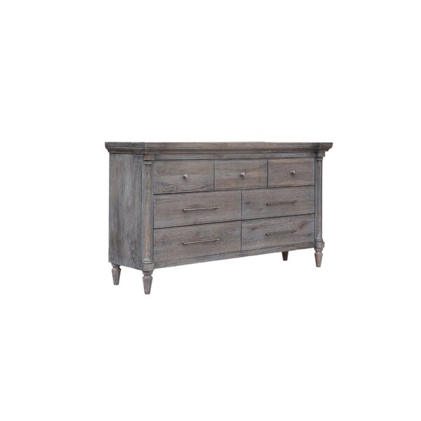 Cummins 7 Drawer Double Dresser by One Allium Way
