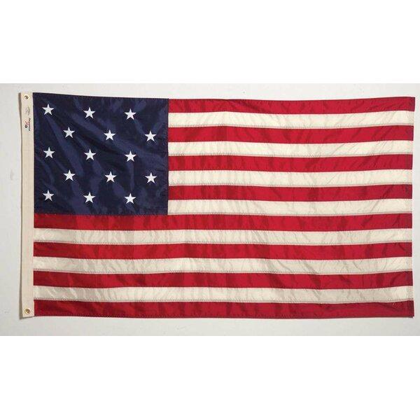 Star Spangled Banner Nylon 3 x 5 ft. Flag by U.S. Flag Store
