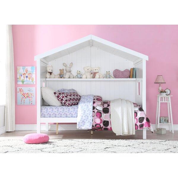 Kenbridge Full Platform Bed with Shelf by Isabelle & Max