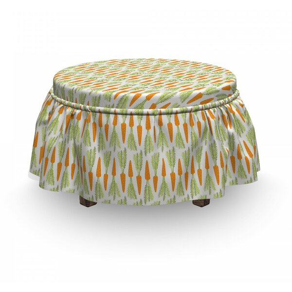 Deals Box Cushion Ottoman Slipcover