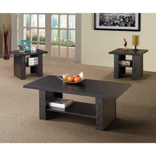 Pavon Bewildering Rich 3 Piece Coffee Table Set Union Rustic