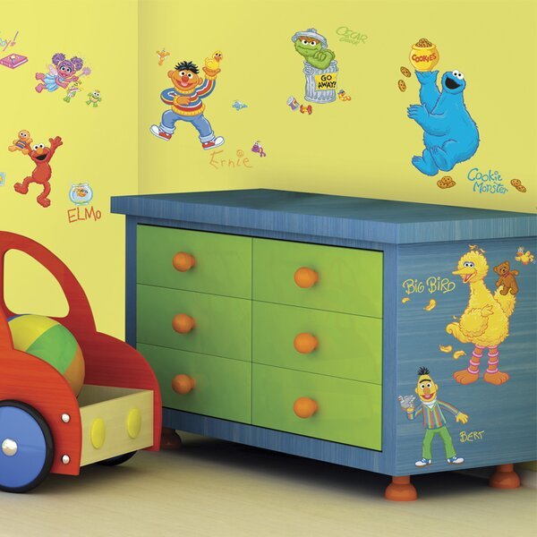 Sesame Street Wall Decal by Room Mates