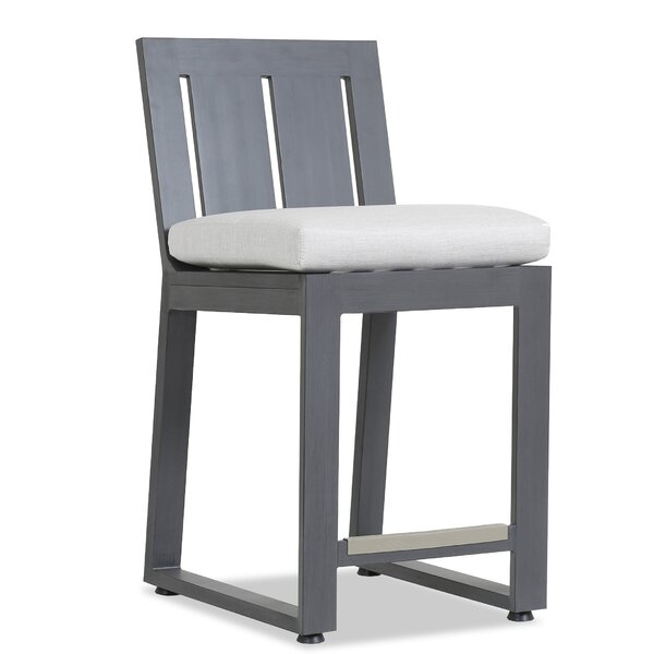 Redondo 26 Patio Bar Stool with Cushion by Sunset West