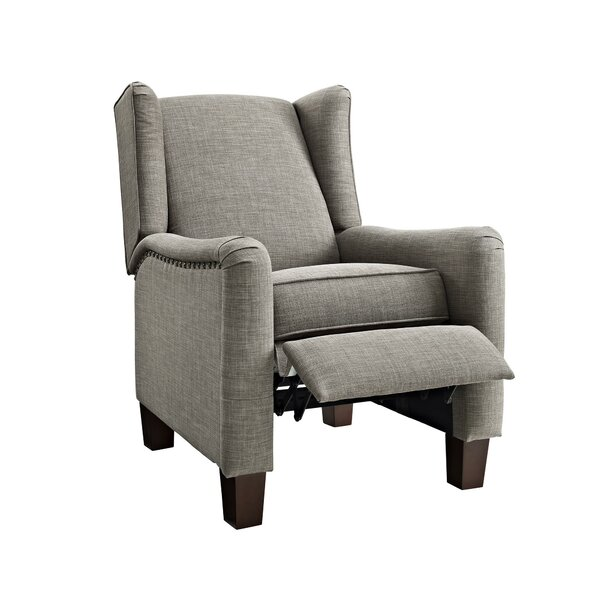 Lehighton Wingback Pushback Recliner by Alcott Hill