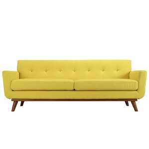 Reviews Langley Street Johnston Upholstered Sofa