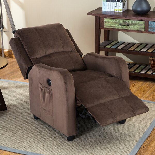 Shipman Power Recliner by Alcott Hill
