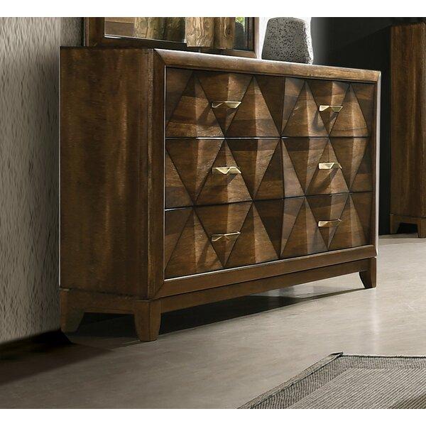 Fegan 6 Drawer Standard Dresser by Brayden Studio