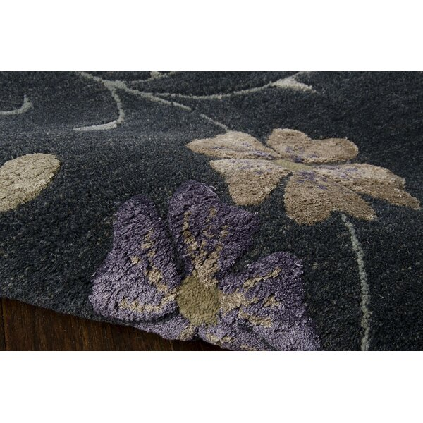 Aine Hand-Tufted Blue Area Rug by Red Barrel Studio