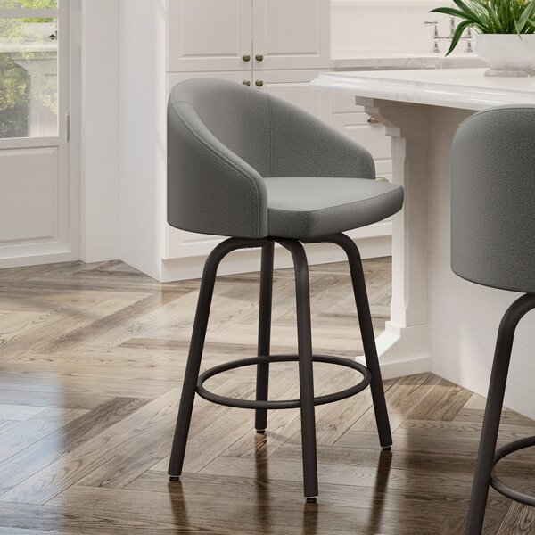 Phenomenal Hawkesbury Swivel Bar Stool By Brayden Studio Top Reviews Gmtry Best Dining Table And Chair Ideas Images Gmtryco