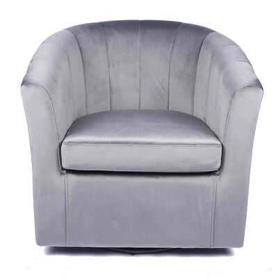 Grey Swivel Accent Chairs You Ll Love In 2020 Wayfair
