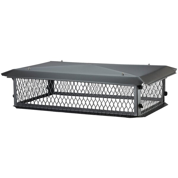 Bigtop Multi-Flue Galvanized Steel Chimney Cap by HY-C