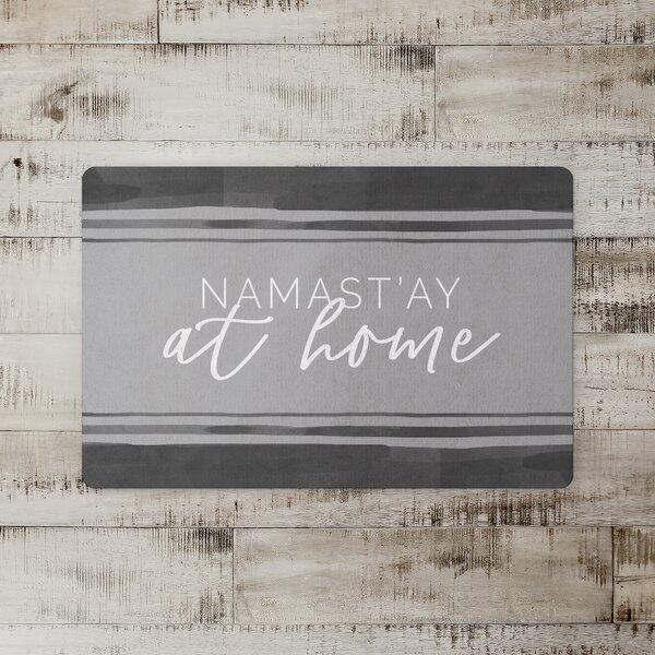 Alceste Namastay Home Floor Kitchen Mat