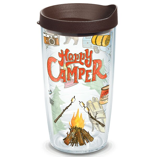 Great Outdoors Happy Camper Plastic Travel Tumbler by Tervis Tumbler