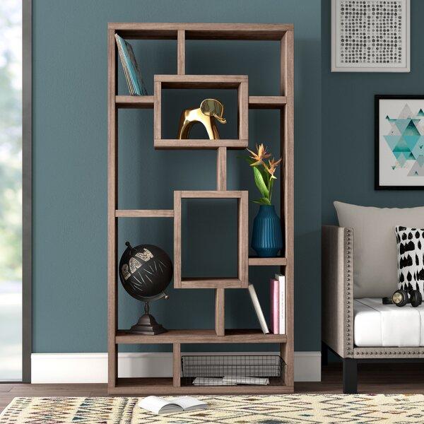 Mosher Geometric Bookcase By Mercury Row