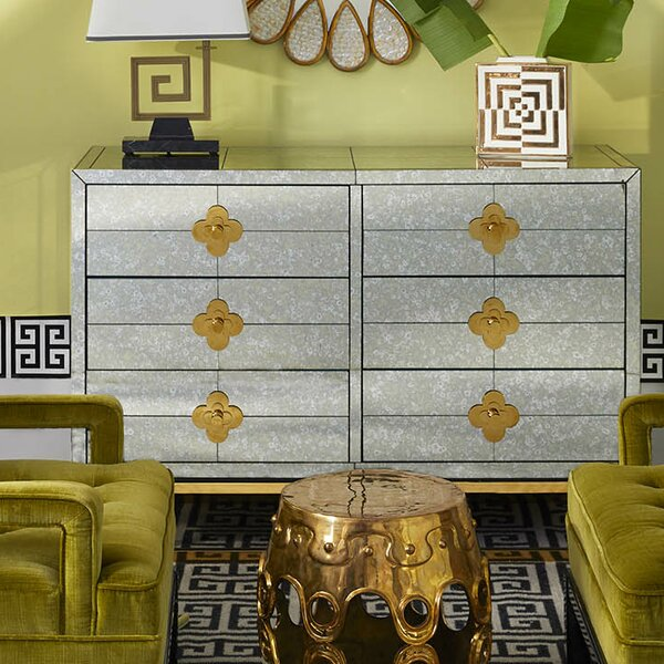 Delphine 6-Drawer Credenza by Jonathan Adler