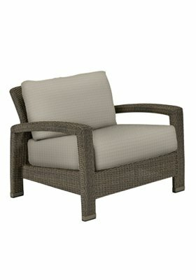 Evo Deep Seating Patio Chair with Cushions by Tropitone