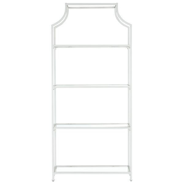 Timblin 4 Tier Etagere Bookcase by Wade LoganTimblin 4 Tier Etagere Bookcase by Wade Logan