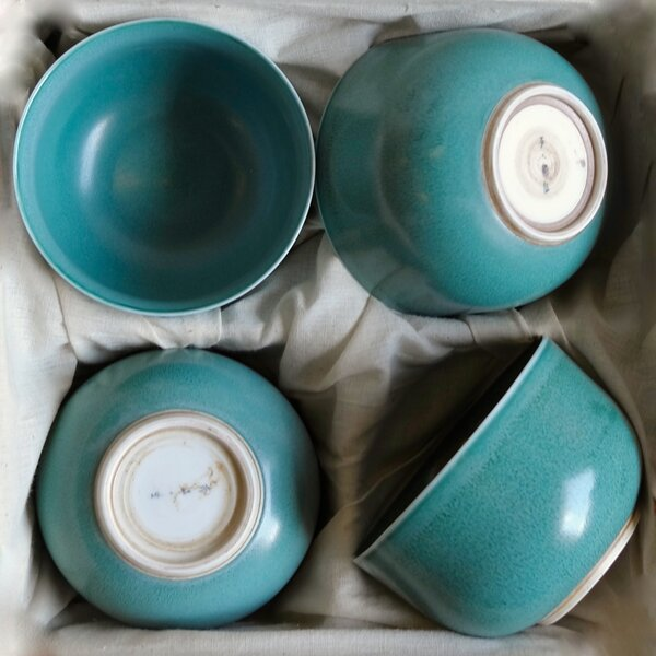 Hermit Tea Cup (Set of 4) by Middle Kingdom