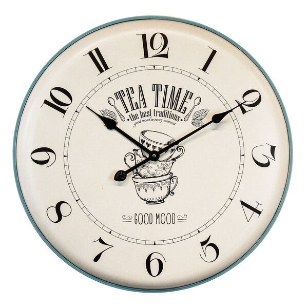 Oversized Hungate Mood 24.2 Wall Clock by August Grove