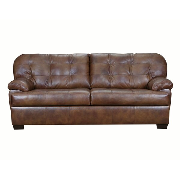 Looking for Thy Leather Sofa By Red Barrel Studio Great price
