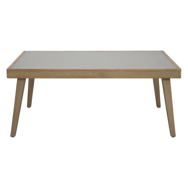 Fuego Synthetic Stone Coffee Table by Seasonal Living