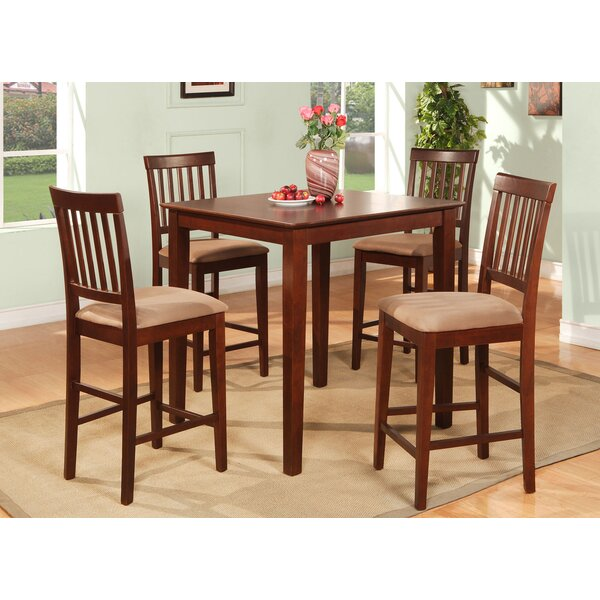 Quinlan 5 Piece Counter Height Dining Set By Andover Mills Reviews