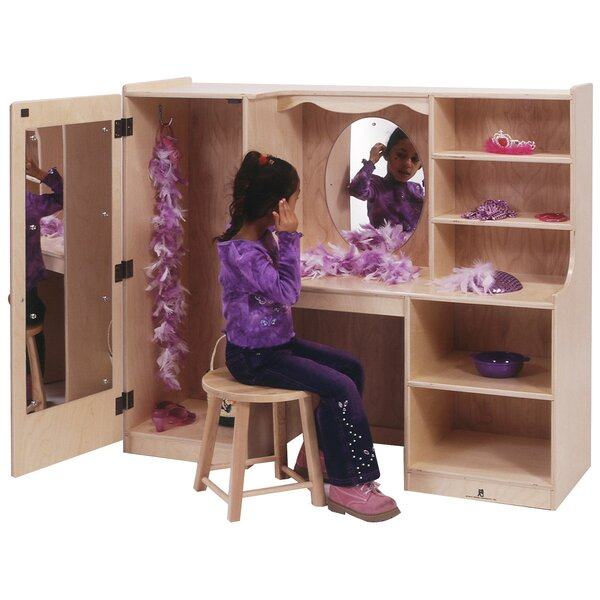 Vanity Closet with Mirror by Angeles