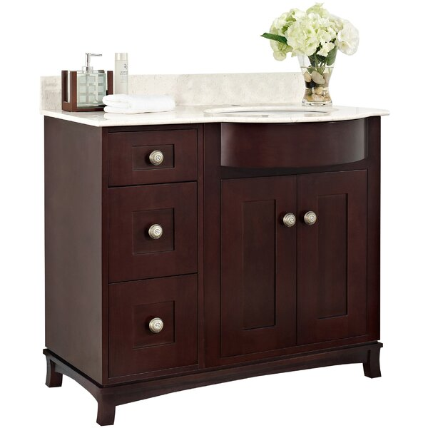 Kester 36 Rectangle Bathroom Vanity by Darby Home Co