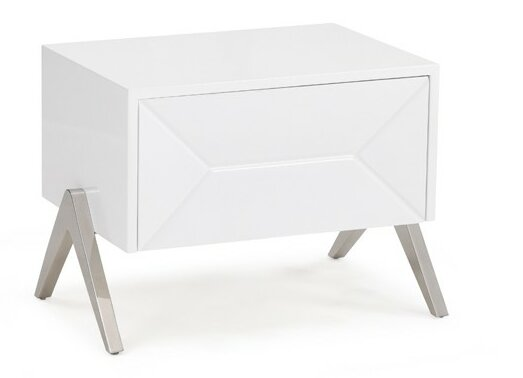 Anouk 1 Drawer Nightstand by Wade Logan