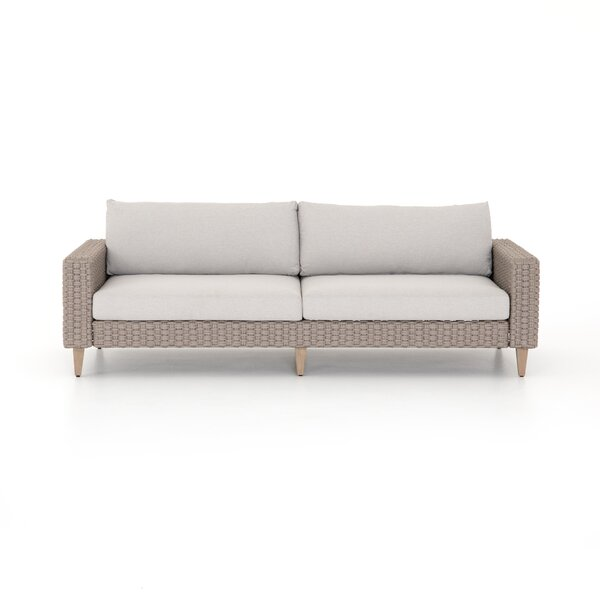 Franko Outdoor Sofa - 90 inch  by Bungalow Rose