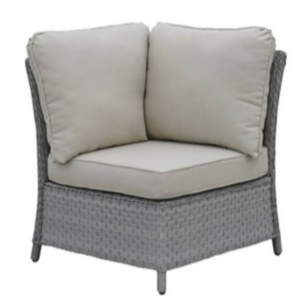 Kingon Patio Chair with Cushions by Alcott Hill