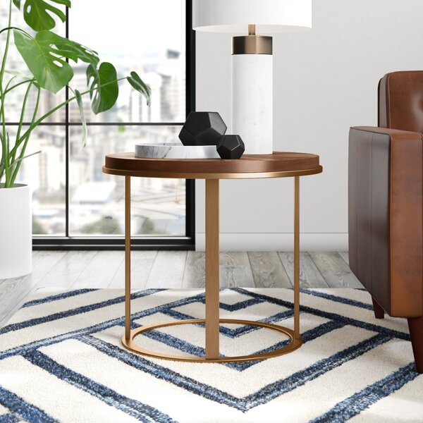 Shoalhaven Frame End Table By Mercury Row