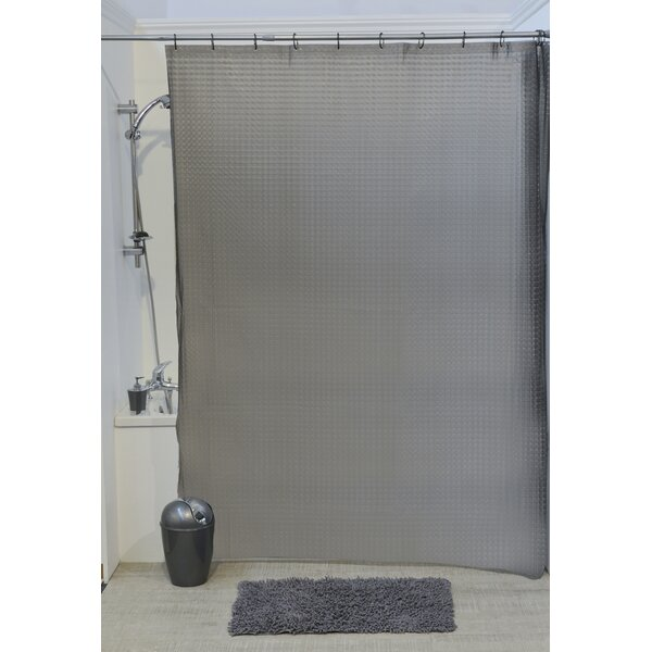 Laser Eva 3D Effect Shower Curtain by Evideco