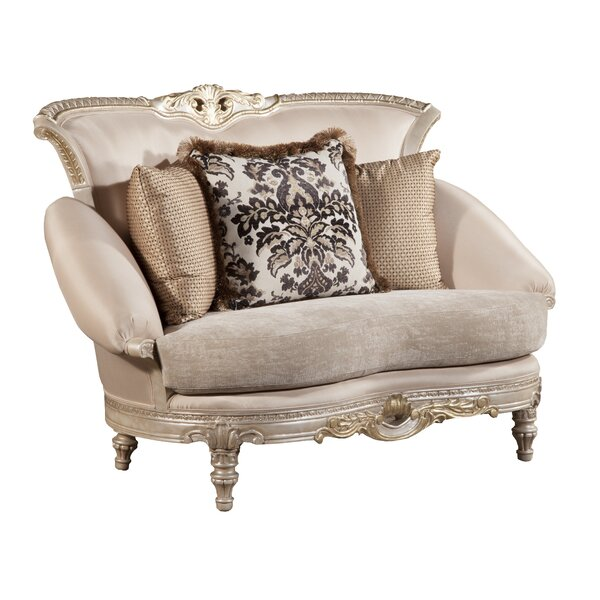 Catalan Curved Loveseat By Benetti's Italia