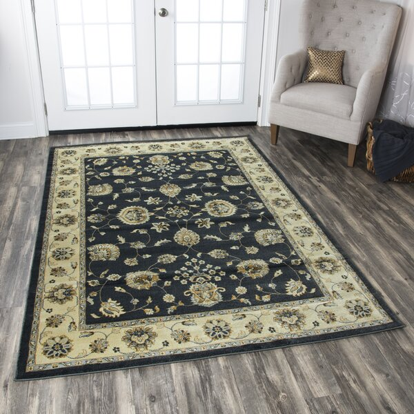 Black/Tan Area Rug by The Conestoga Trading Co.