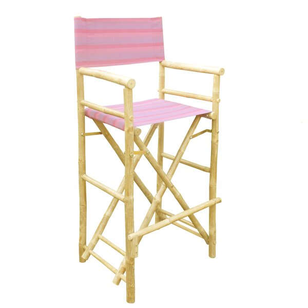 Carsdale Bamboo 32 Counter Chair Patio Bar Stool (Set of 2) by Bay Isle Home