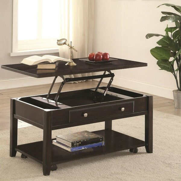 Marisa Modern Lift Top Wooden Coffee Table With Storage By Alcott Hill