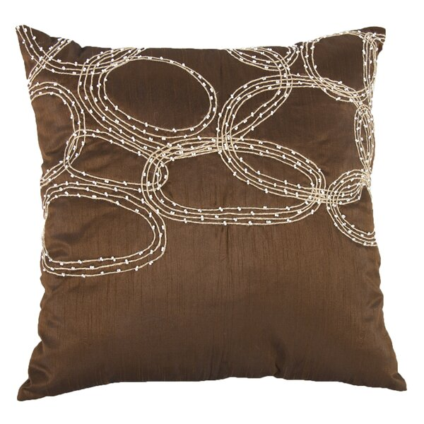 Bridgeville Beaded Throw Pillow (Set of 2) by Charlton Home