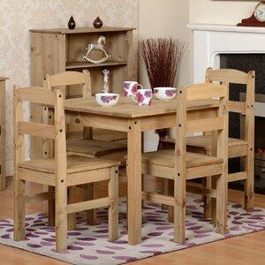Essgruppe Brigite mit 4 Stühlen von Home & Haus
