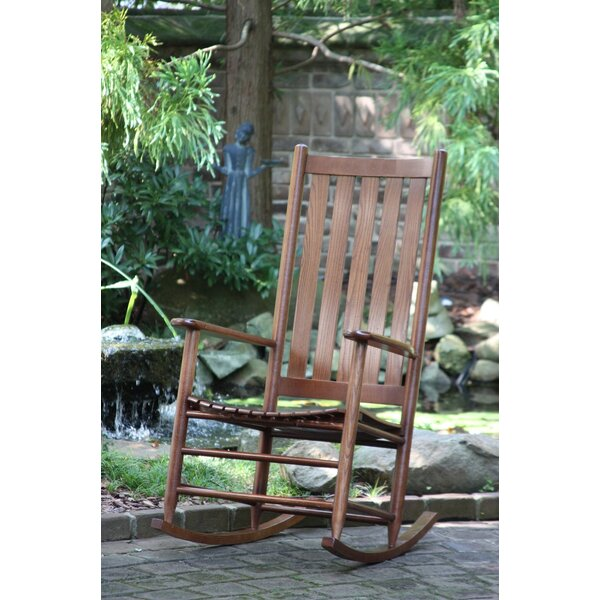 Thor Rocking Chair by Gracie Oaks