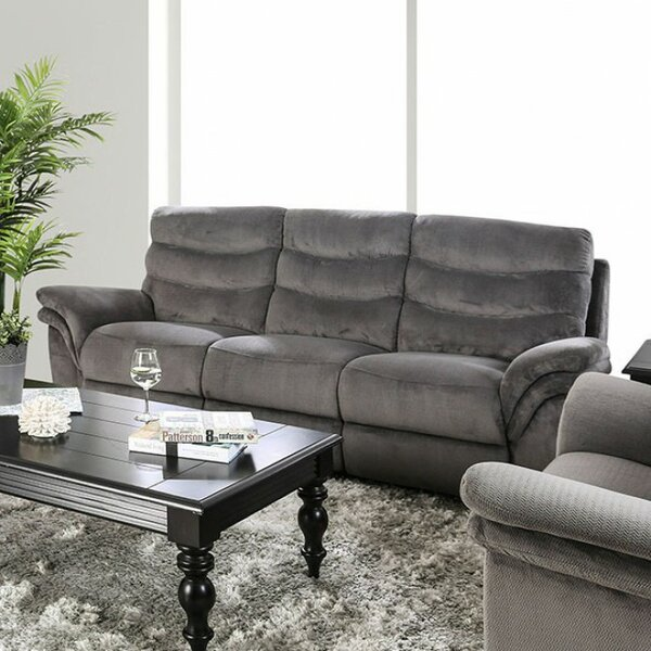 Helgeson Transitional Sofa Manual Wall Hugger Recliner by Red Barrel Studio