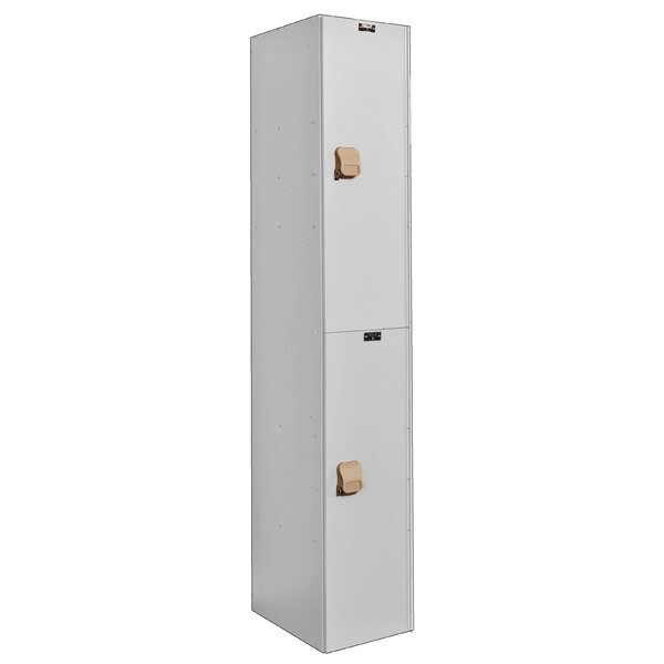 @ MedSafe 2 Tier 1 Wide School Locker by Hallowell| #$939.99!