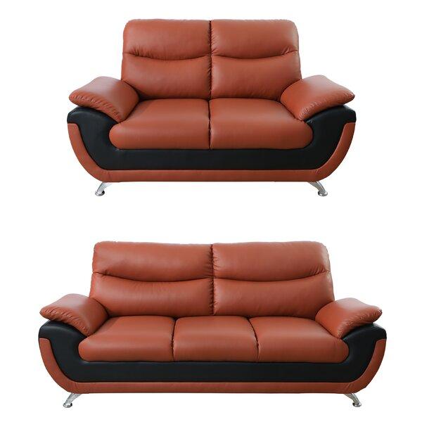 Nevarez 2 Piece Living Room Set by Orren Ellis
