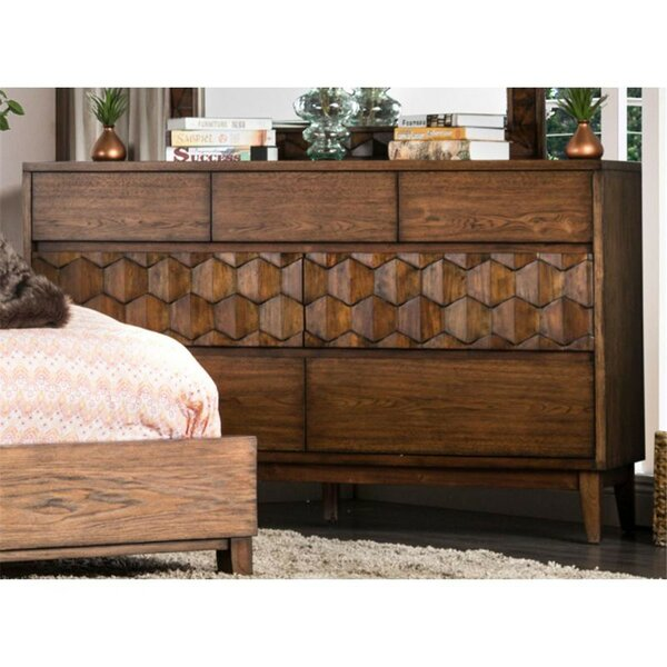 Amirah 7 Double Dresser by Bungalow Rose