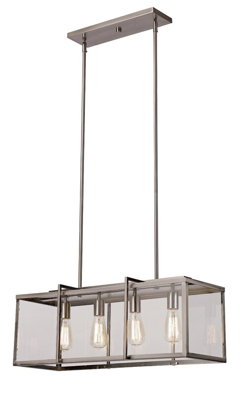 Chapawee 4-Light Kitchen Island Pendant